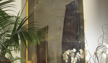 #22 Hollywood Antique, Framed Mirror